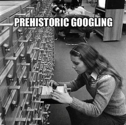 Prehistoric Googling. Click like if you have ever used these!