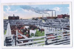 St. Joseph Mo Stock yards