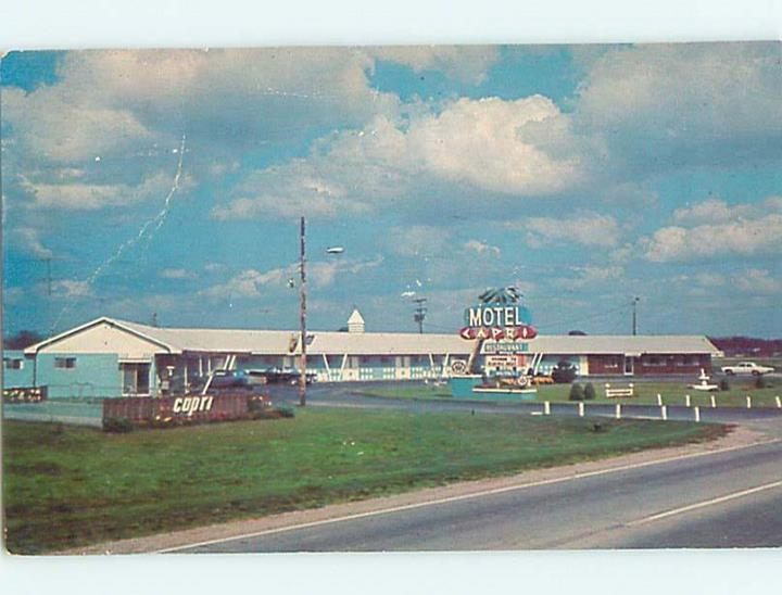 1985 OLD CARS & CAPRI MOTEL & RESTAURANT
