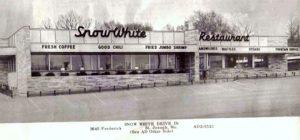 Snow White Restaurant St. Joseph Mo. Phone AD2-5521