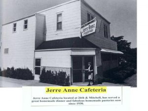 Jerry Anne's Cafeteria 26th and Mitchell St. Joseph Mo Opened in 1930Jerry Anne's Cafeteria 26th and Mitchell St. Joseph Mo Opened in 1930