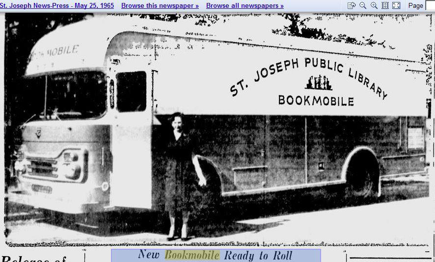 St. Joseph Mo Bookmobile