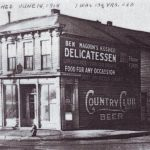 702 South 8th Street – This was the original Site of Magoon's Famous Delicatessen as it looked in June 18, 1918.  St. Joseph, Mo