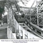 The Roller Coaster Giant Dipper at Lake Contrary St. Joseph Mo
