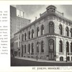 """The Missouri Valley Trust Building – Building used in Academy Award winning, """"Paper Moon."""""""