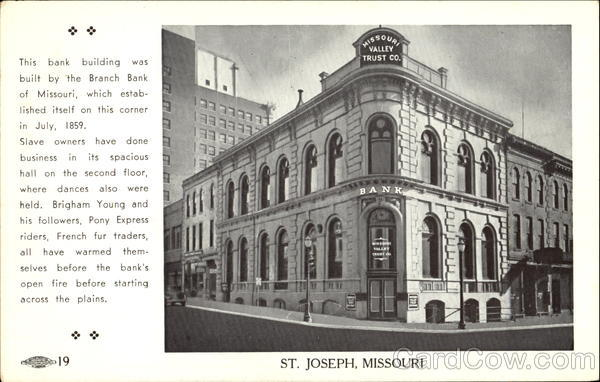 The Missouri Valley Trust Building