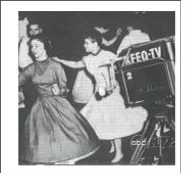 Lets Dance KFEQ-TV. 1960.