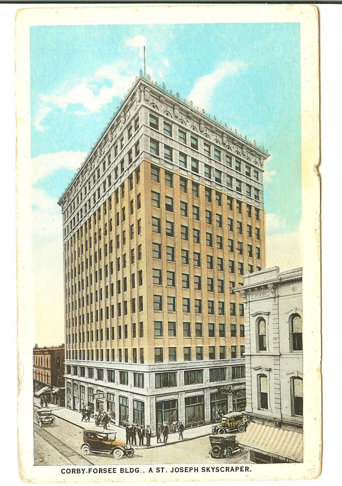 The Corby Building St. Joseph Mo. - Tallest Building in St. Joseph