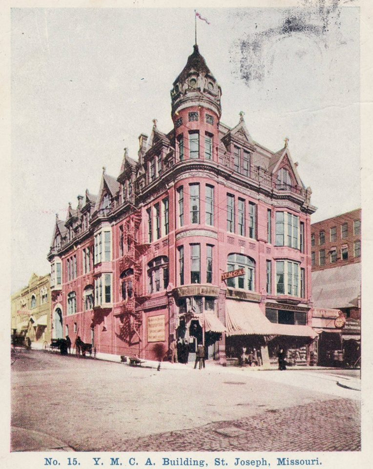 YMCA. ca 1900. 7th & Felix. Schneider Building.