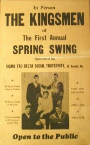 The Kingsmen in St. Joseph at The Frog Hop Ballroom - Louie Louie