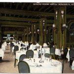 Dining Room Robidoux Hotel St. Joseph Mo.