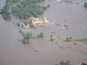Terrible's Casino Underwater Flood of 2011 St. Joseph Mo