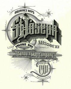 St. Joseph Mo Sanborn Map Company