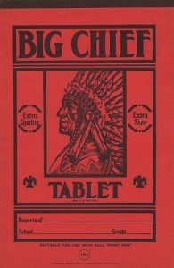 Big Chief Tablet St. Joseph Mo