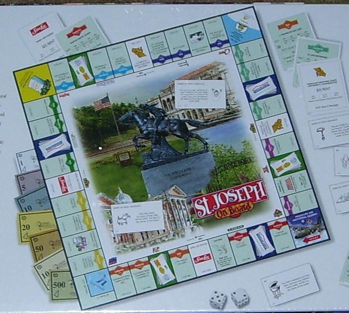 St. Joseph Mo Monopoly Game