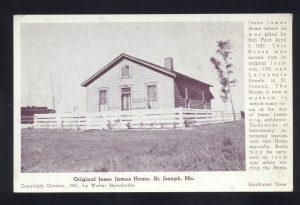 Jesse James Home