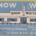 Matchbook Cover Snow White Restaurant  St. Joseph Mo.