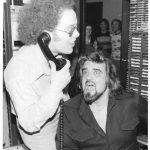 St. Joseph's Bob Heater and Wolfman Jack at KKJO 1976