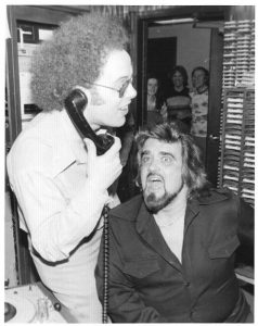 Wolfman Jack at KKJO 1976 with Bob Heater