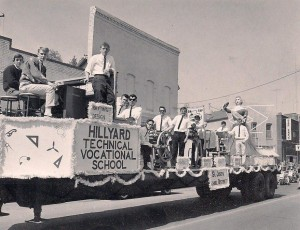 1963 Apple Blossom Parade and Hillyard Technical School