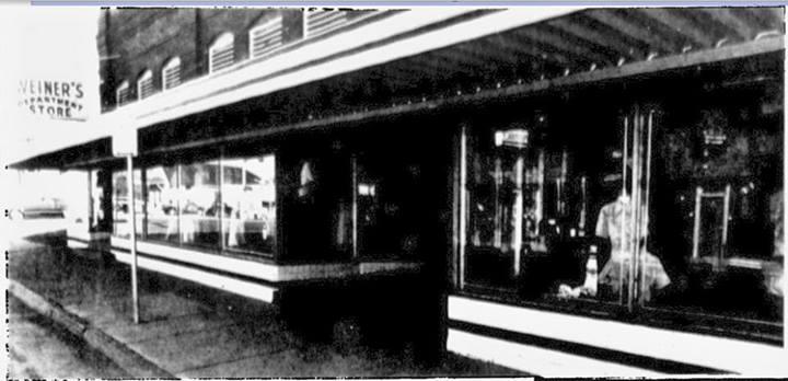 Weiner's Dept Store. King Hill. 1976 St. Joseph Mo