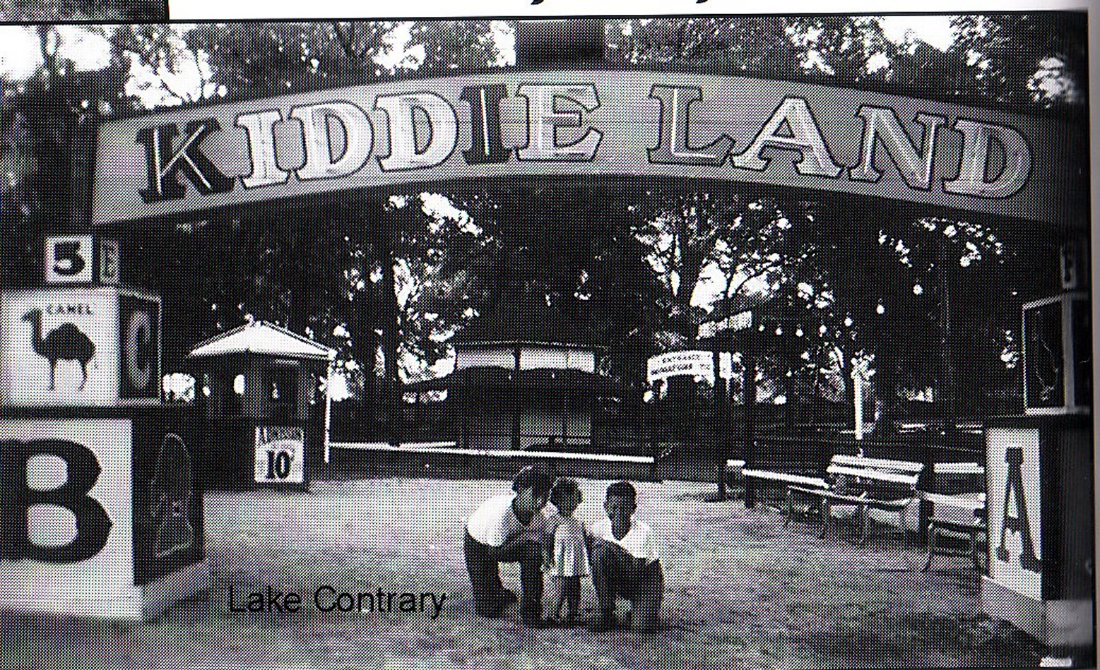 Kiddie Land Lake Contrary St. Joseph Mo