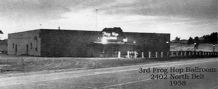 3rd Frog Hop Ballroom 1958 2402 North Belt St. Joseph Mo
