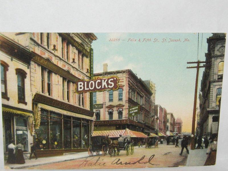 Blocks St. Joseph Mo. - I Love St. Joseph Mo