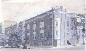 Civic Center Apartments. 1930s. 1015-1031 Faraon.