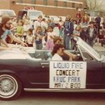 Liquid Fire Apple Blossom Parade 1982 St. Joseph Mo