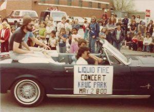 Liquid Fire Apple Blossom Parade 1982 St. Joseph Mo