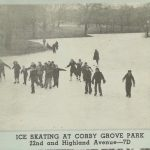 Ice Skating On Corby Pond – St. Joseph Mo