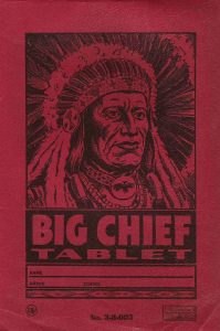 Big Chief Tablet St. Joseph Mo