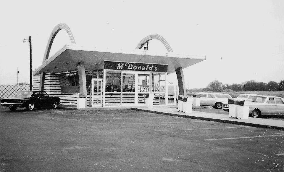 Who remembers when the local McDonalds Look more like this?