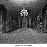 Main entrance Center buiding circa 1800s State Insane asylum