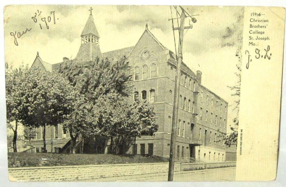 Christian Brothers College St. Joseph Mo 1907