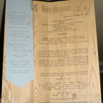 1941 Hotel Robidous Coffee Shop Menu