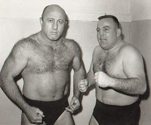 Bulldog Bob Brown and Bob Geigel St. Joseph Mo Wrestling