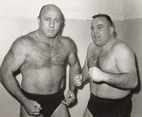 Bulldog Bob Brown and Bob Geigel St. Joseph Mo Wrestling