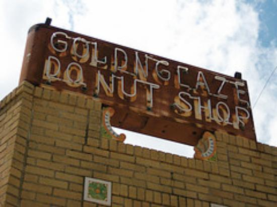 Golden Glaze Donut Shop