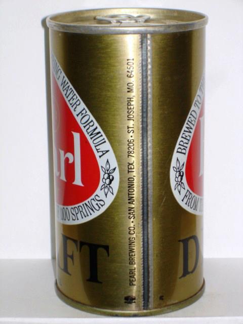 Pearl Beer - St. Joseph Mo