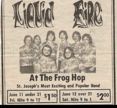 Liquid Fire At the Frog Hop - St. Joseph Mo