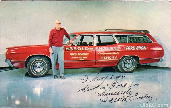 Harold Ensley – The Sportmans Friend – St.  Joseph Mo