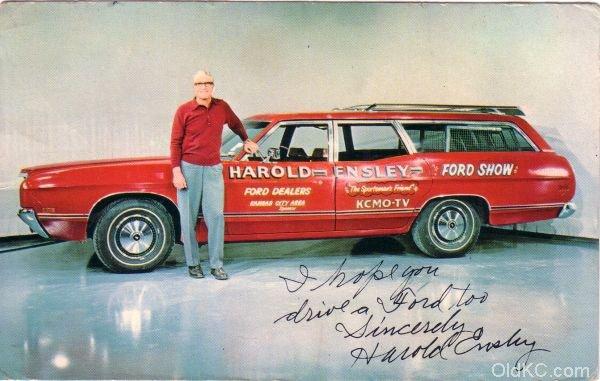 Harold Ensley - The Sportmans Friend - St.  Joseph Mo
