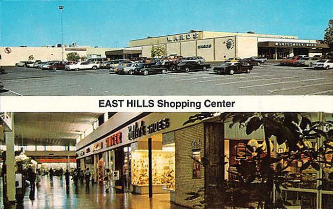 East Hills Shopping Center 1970s St. Joseph Mo