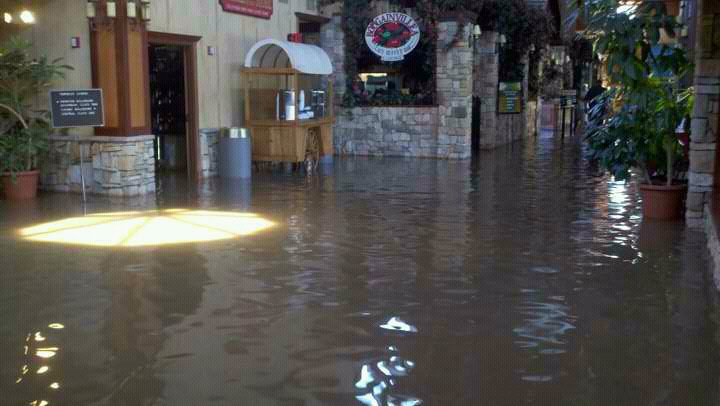 Inside Terribles Casino – Northwest Missouri Flood of 2011