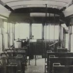 Interior of 1930-40s St. Joe Trolley Bus