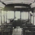 Interior of 1930-40s St. Joe Trolley Bus
