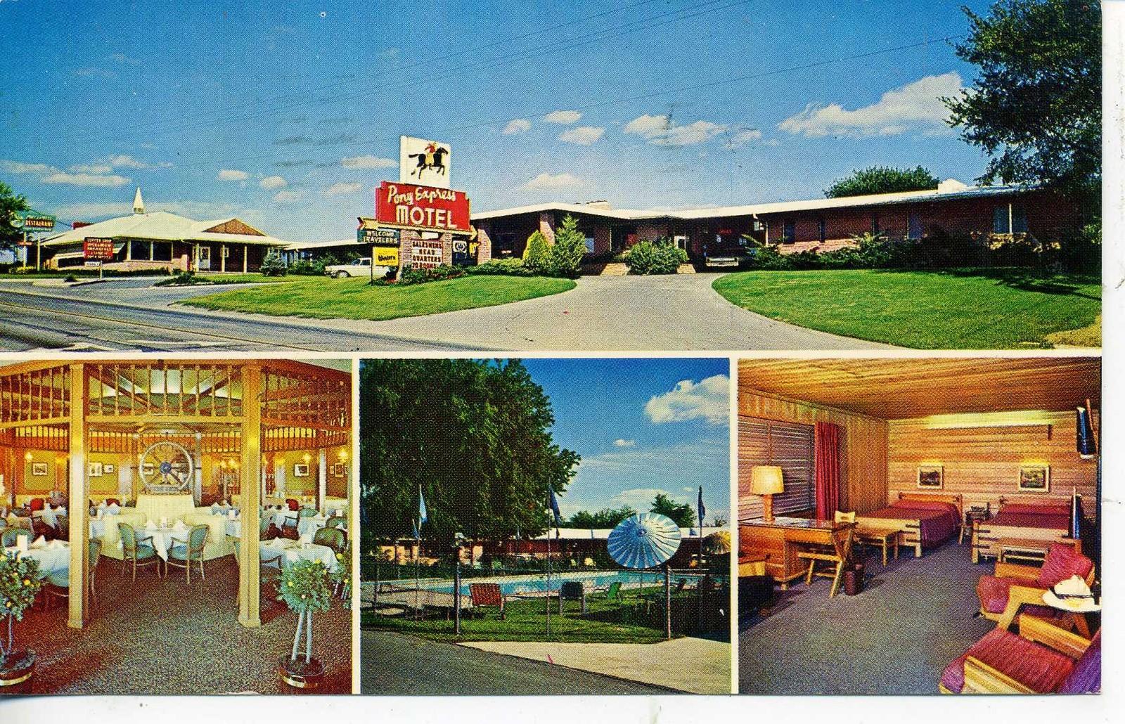 Pony Express Motel Saint Joseph Missouri