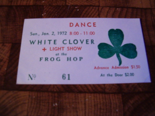 White Clover Later went on to become Kansas. St. Joseph, Mo.